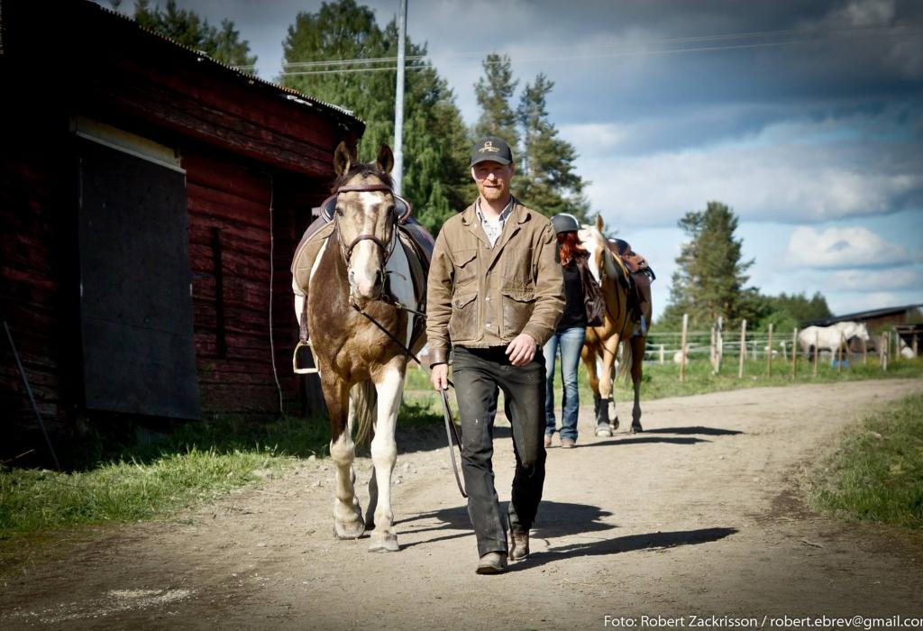 På väg till stallet