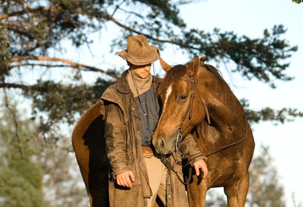 Roger och häst